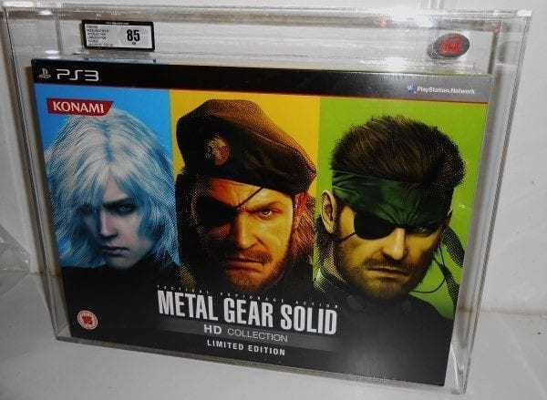 SONY PS3 METAL GEAR SOLID HD COLLECTION BOXSET GRADING