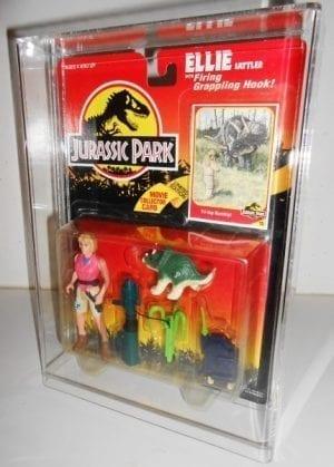 Jurassic Park Standard Human MOC Display Case