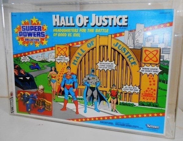 Kenner Super Powers Hall of Justice Grading