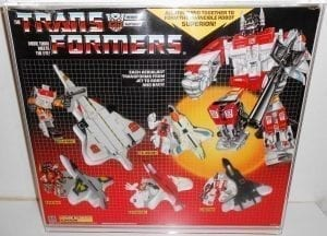 TRANSFORMERS G1 GIFTSET DISPLAY CASE