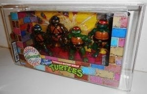 TMNT VINTAGE PLAYMATES 4 PACK EXCLUSIVE PLAYSET
