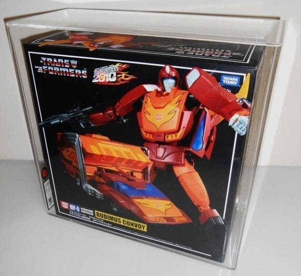 Transformers MasterPiece Rodimus Convoy MISB Grading