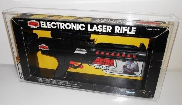STAR WARS ESB LASER RIFLE MISB GRADING