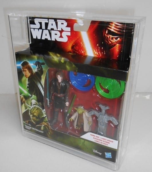 STAR WARS ROGUE ONE 2 PACK DISPLAY CASE