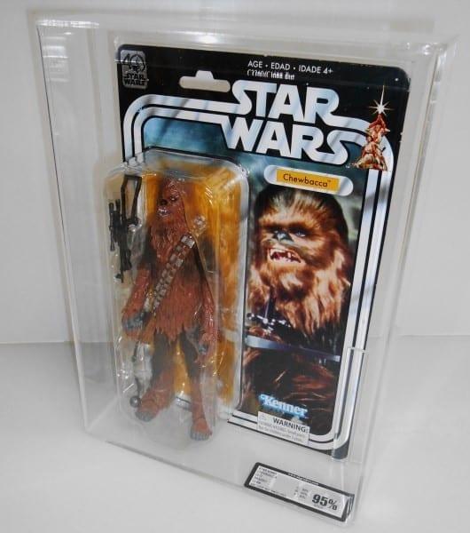 Star Wars 40th Anniversary Figures MOC Grading