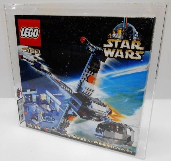 Lego Star Wars 7180 B-WING AT REBEL CONTROL CENTER MISB Grading