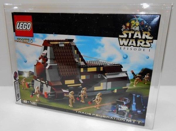Lego Star Wars 7184 TRADE FEDERATION M.T.T. MISB Grading
