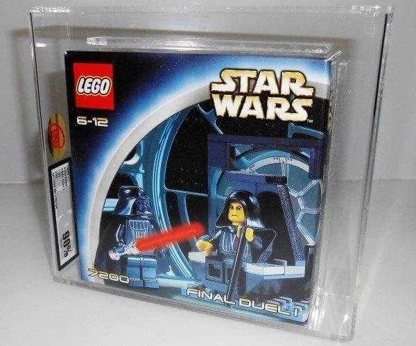 Lego Star Wars 7200 FINAL DUEL 1 MISB Grading
