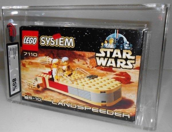 Lego Star Wars 7110 LANDSPEEDER MISB Grading