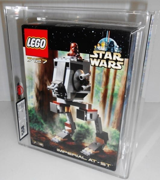 Lego Star Wars 7127 IMPERIAL AT-ST MISB Grading