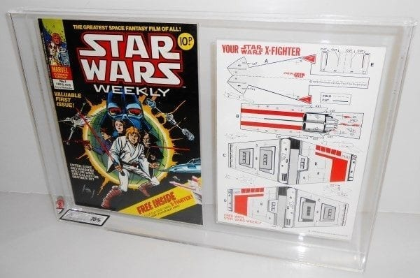 Star Wars UK Marvel Comic with Free Gift Grading
