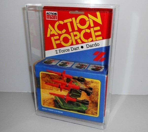 Action Force PAC Rats Slide Bottom Case