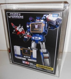 TRANSFORMERS MASTERPIECE SOUNDWAVE GRADING