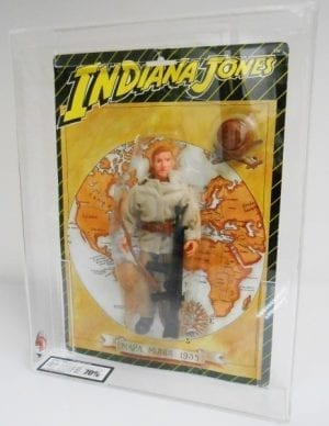 INDIANA JONES FOREIGN CARDED FIGURE GRADING