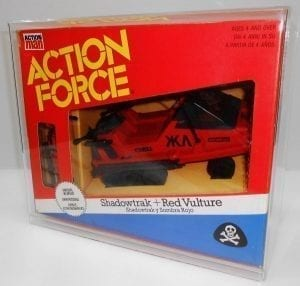 Action Force Shadowtrak Displa Case