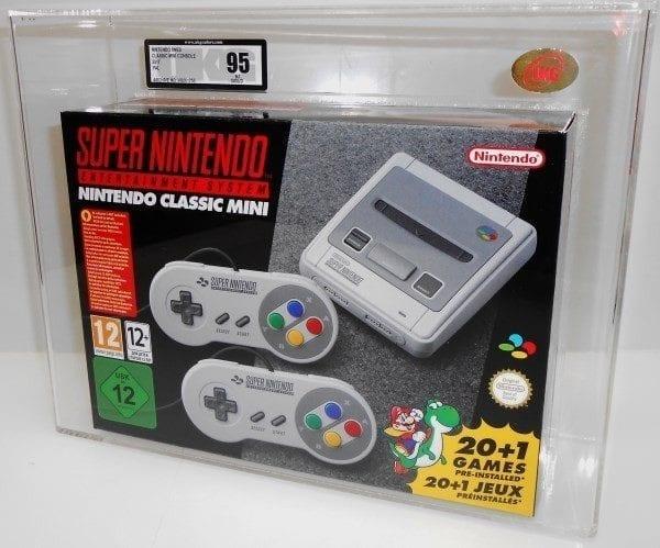 Nintendo SNES Mini console 2017 Grading