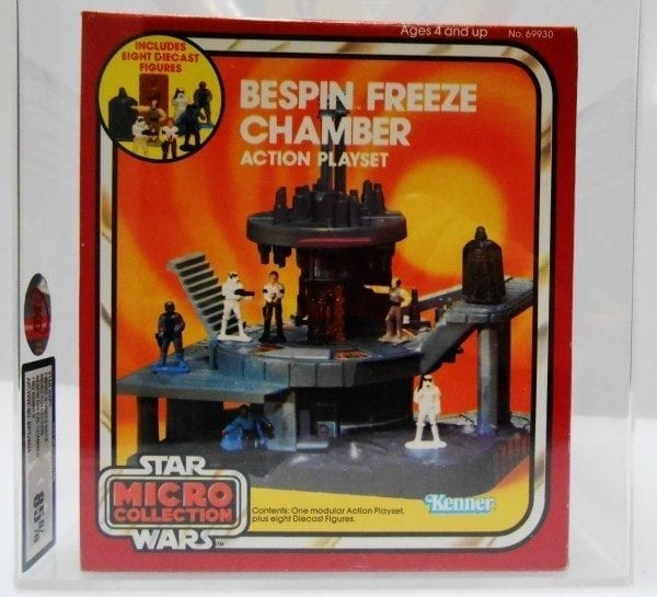STAR WARS MICRO COLLECTION BESPIN FREEZE CHAMBER GRADING