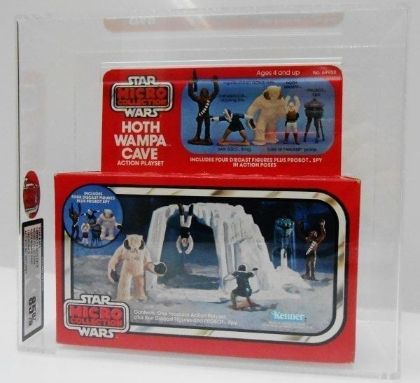 STAR WARS MICRO COLLECTION HOTH WAMPA CAVE