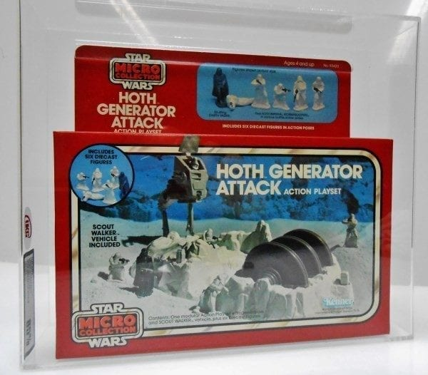 STAR WARS MICRO COLLECTION HOTH GENERATOR ATTACK