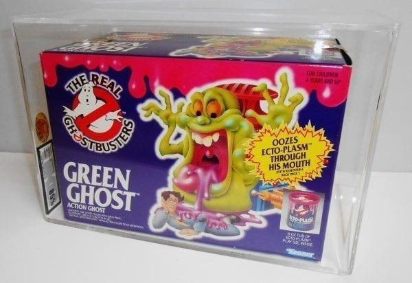 GHOSTBUSTERS GREEN GHOST GRADING