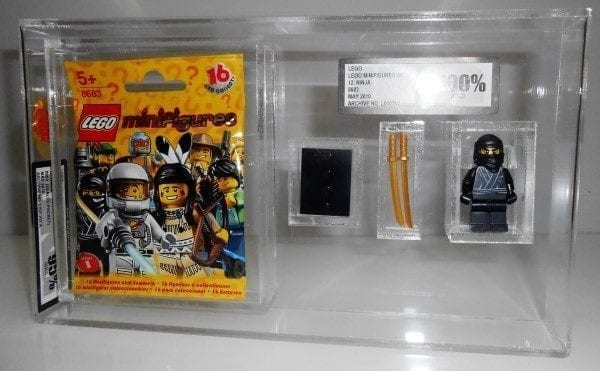 LEGO MINI FIGURE SERIES PACKET+MINI FIGURE CUSTOM GRADING