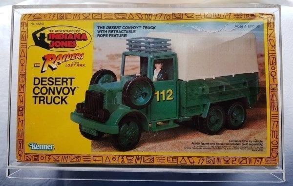 Indiana Jones Convoy Truck Slide Bottom Display Case