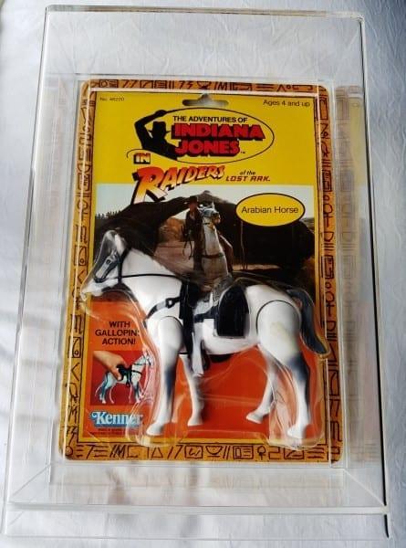 Indiana Jones Arabian Horse Slide Bottom Display Case