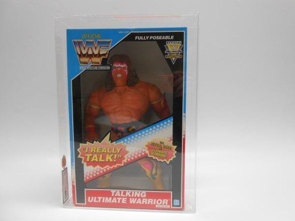 """WWF 12"""" TALKING FIGURES HASBRO GRADING"""