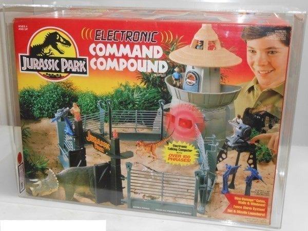 Jurassic Park Compound Grading